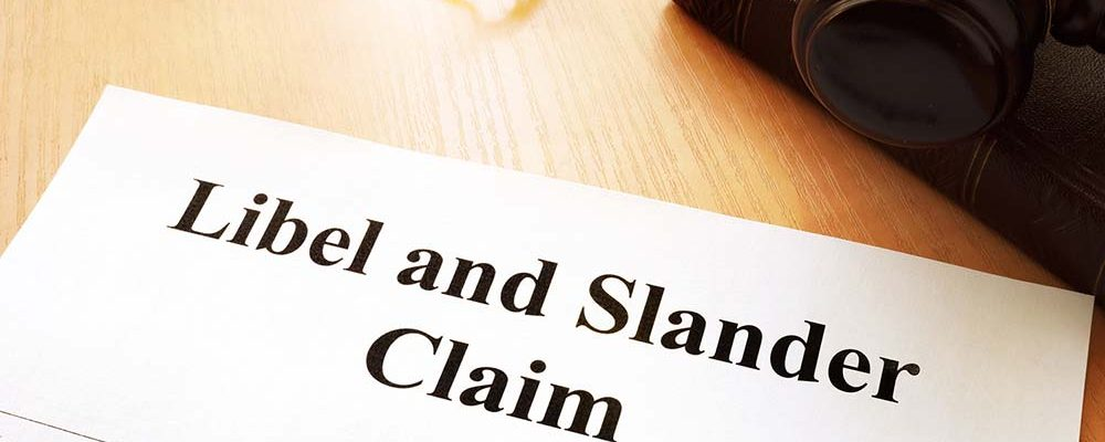 What does defamation mean for letting and estate agents?